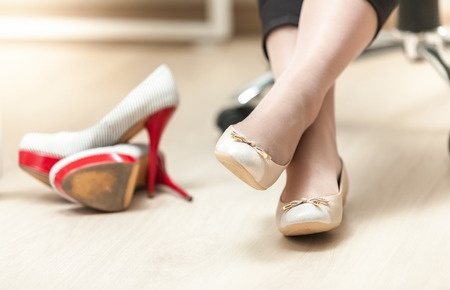 flats with arch support flat feet