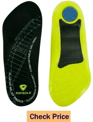 Sof Sole Plantar Fascia Comfort Gel Shoe Insole for Heel Spurs and Plantar Fasciitis
