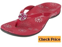 Vionic by Orthaheel Sharon Patent Thong Sandals