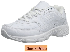 FILA Slip Resistant Work Shoe White