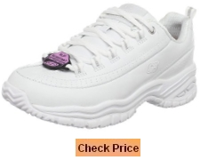 Skechers for Work Women's Soft Stride-Softie Slip Resistant Tennis Shoe