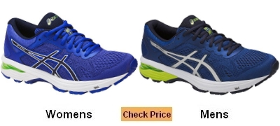 ASICS GT 1000 6 Walking Shoes for flat feet
