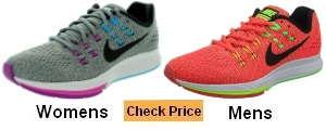 Nike Air Zoom Structure 19 Running Shoe With Arch Support