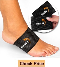 FOOTIU Compression Copper Arch Support Brace