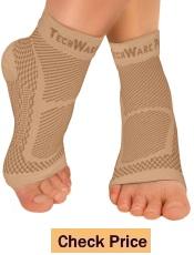Tech Ware Pro Ankle Brace Compression Sleeve