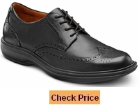 Dr Comfort Wing Therapeutic Diabetic Extra Depth Dress Shoe