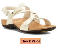 Vionic by Orthaheel Women's Paros Leather Sandals