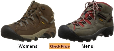 KEEN WP Targhee II Mid Hiking Boot