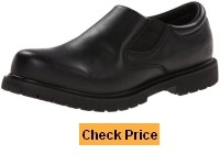 Skechers for Work Men's 77046 Cottonwood Goddard Twin Gore Slip On