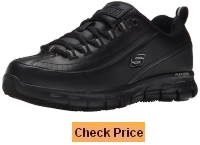 Skechers for Work Women's 76550 Sure Track Trickel Slip Resistant Work Shoe
