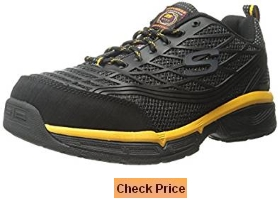 Skechers for Work Men's Conroe Steel Toe Work Shoe