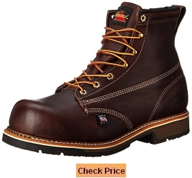 Thorogood Men's American Heritage 6 Inch Safety Toe Lace-up Boot