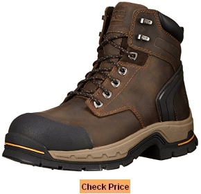 "Timberland PRO Men's 6"" Stockdale GripMax Alloy Toe Work Boot"