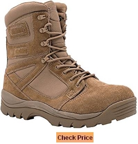 LA Police Gear Tac Military 8 Inch Boot - 670-1 Compliant Coyote