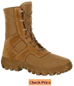 Rocky Men's 8 Enhanced Snakeproof Jungle Cordura Professional Boots