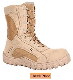 Rocky Men's 8 Inch S2V Composite Steel Toe Tactical Military Boot-RKYC028