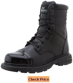 Thorogood Men's 8 Inch Side Zip Jump Boot Gen-flex