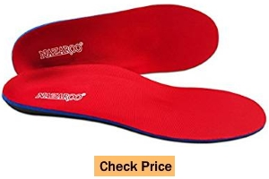 Nazroo Orthotic Insoles for Flat Feet Fight Against Plantar Fasciitis