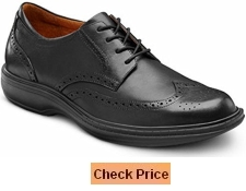 Dr Comfort Wing Extra Depth Dress Shoe