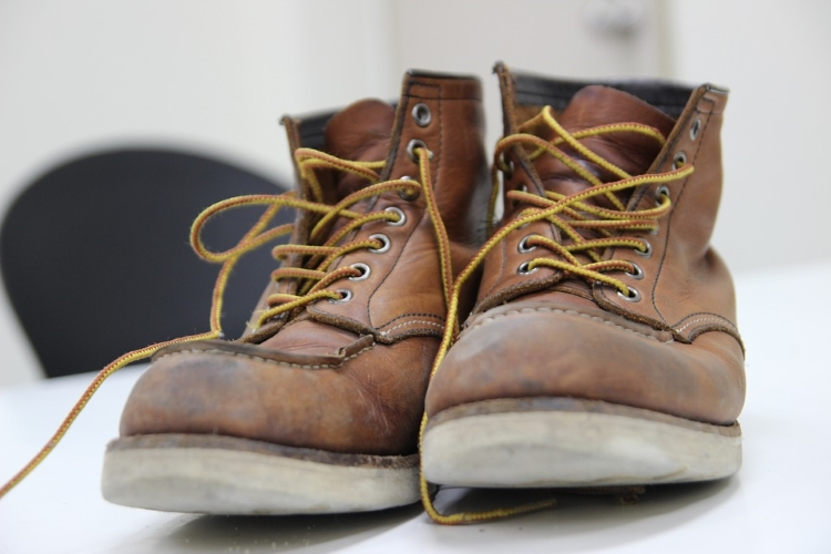 Used Safety Work Boots