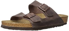 Birkenstock Women's Arizona Oiled Leather Habana Sandals