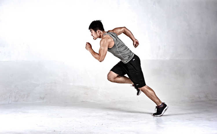 Runner in Sprint Mode