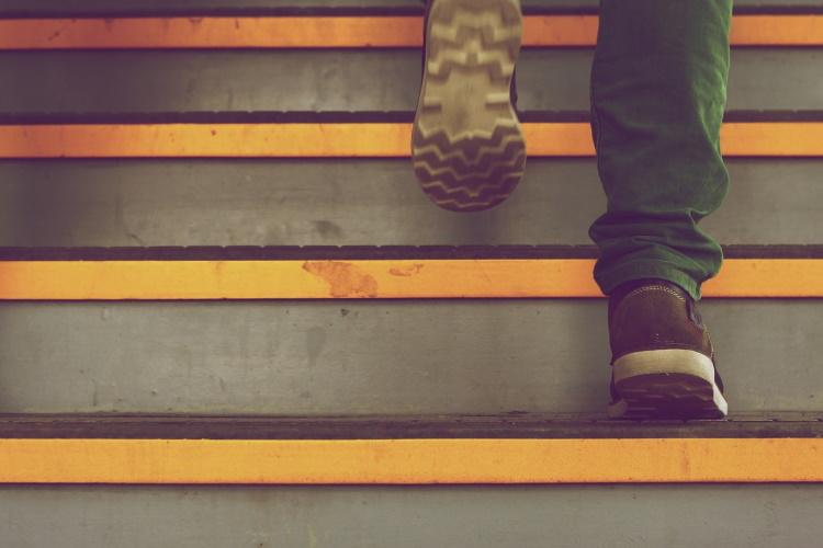 Running on Steps