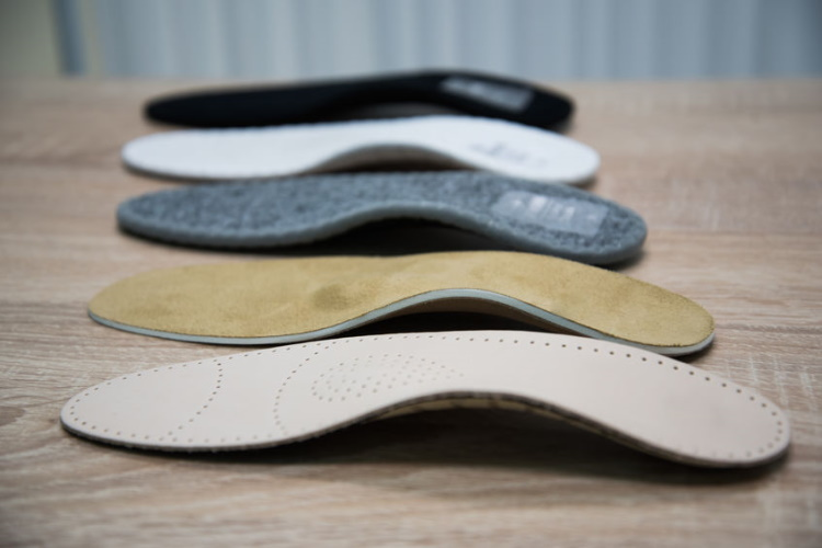 Insoles With Different Arch Support Levels