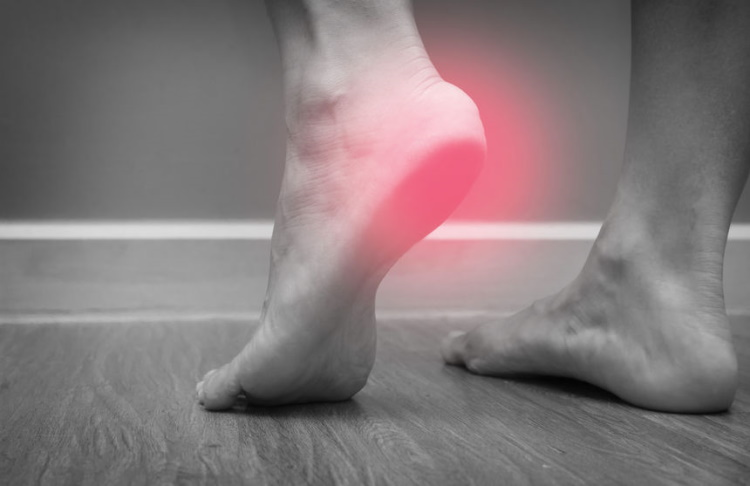 Mens Feet With Heel Pain