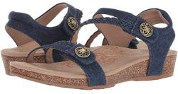 Aetrex Jillian Quarter Strap Sandal