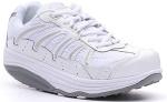 Rocker Bottom White Shoe